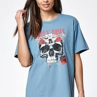 Guns N' Roses Flower Skull T-Shirt