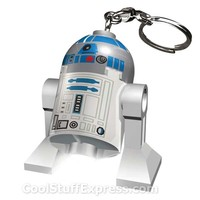 Lego R2-D2 Star Wars LED Lighted Keychain