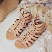 Laced Sand Sandals