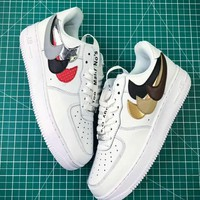 NIKE AIR FORCE 2018 new wave brand men and women stylish sneakers F-CSXY white