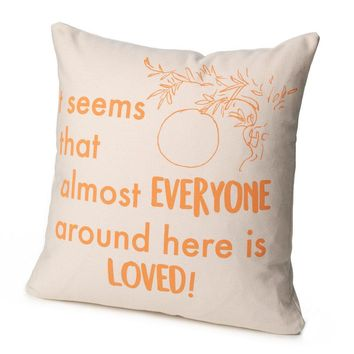 James and the Giant Peach Pillow Cover