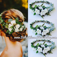 Flower headpiece Wedding