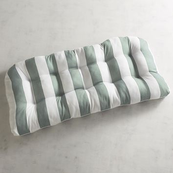 Contour Settee Cushion in Dover Spa Stripe