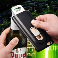 Amazing Beer Bottle Opener for iPhone 6 6S 4.7 Inch Aluminum Back Cover Metal