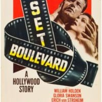 Sunset Boulevard Movie Poster Insert 14x36