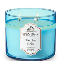 WILD SAGE & ALOE3-Wick Candle