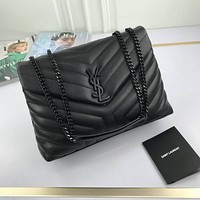 ysl newest popular women leather handbag tote crossbody shoulder bag satchel 117