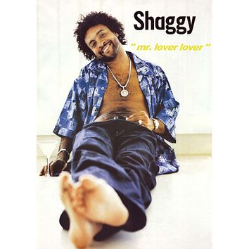 Shaggy - Mr. Lover Lover Poster 24x34