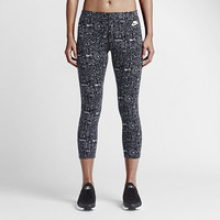 The Nike Leg-A-See Cropped Printed Women's Leggings.