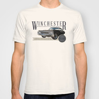 Supernatural : Winchester Antiques T-shirt by Fictional Chick