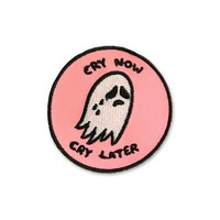 Sara M. Lyons Cry Now, Cry Later Patch
