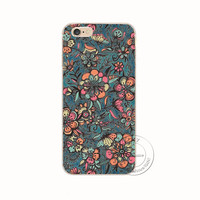 Mandala flower Datura Cell Phone Cases Iphone 6 6S