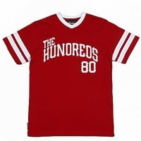 The Hundreds - Red Penn T-Shirt - The Hundreds, T-Shirts - KNYEW Clothing Boutique