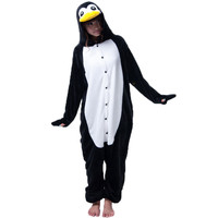 Penguin Pajamas Halloween Costume Cosplay Homewear Lounge Wear