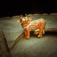 Dairy Cow Brooch #5106