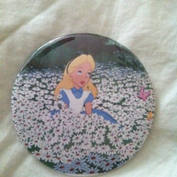 Alice in Wonderland Button