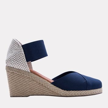 Anouka Mid Suede Sandal (Navy)