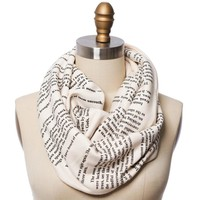 The Name of the Wind Book Scarf