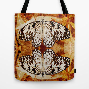 THE BEAUTY OF BUTTERFLIES Tote Bag by Catspaws   Society6