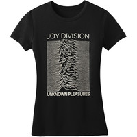 Joy Division  Unknown Pleasures Girls Jr Black