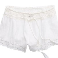 Aerie Women's Crochet Lace Short