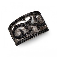 Stephen Webster White Gold Classic Black Sapphire Thorn Ring