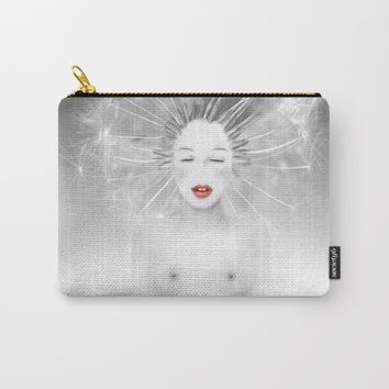 Connexion Carry-All Pouch by LilaVert | Society6