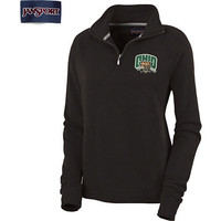 Ohio University Bobcats Women's 1/4 Zip Chelsea Fleece Pullover