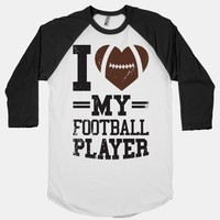 I Love My Football Player