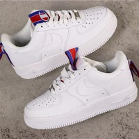 Nike Air Force 1 AF1 Low 'Champion' White Sneakers - Best Online Sale