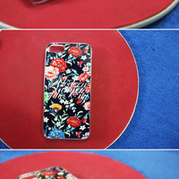 Vampire Weekend floral iPhone iPhone5 case by rabbityr on Etsy