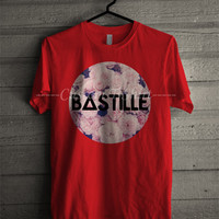 BASTILLE floral vintage Tee - T3 Unisex Tees For Man And Woman / T-Shirts / Custom T-Shirts / Tee / T-Shirt