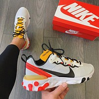 NIKE Epic React Element 87/Undercover mesh breathable sneakers Shoes