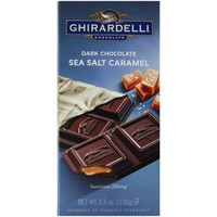 Ghirardelli Chocolate Dark & Sea Salt Caramel Chocolate, 3.5 oz - Walmart.com
