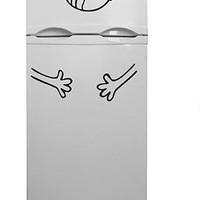 Refrigerator decor Funny Face Kitchen decor Home Decal Vinyl Sticker tr810