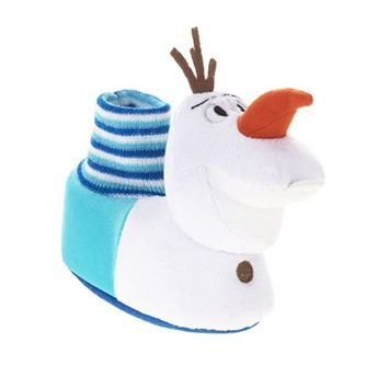 Disney Frozen Olaf Plush Head Sock Top Slippers Toddler Size (X-Large (11/12))