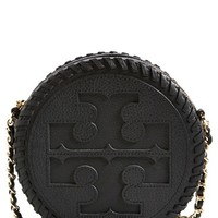Tory Burch 'Marion' Leather Canteen Crossbody Bag