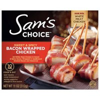 Sam's Choice Sweet & Spicy Bacon Wrapped Chicken, 10 count, 11 oz - Walmart.com
