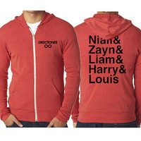 One Direction Jacket - Soft Zip Up Hoodie - 011x