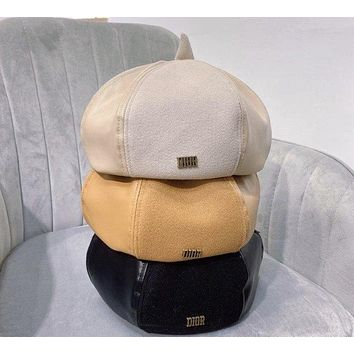Dior LEATHER BERET