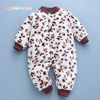 Newborn  Boys' Baby Clothing Flannel baby Rompers Long Sleeve children's Clothing Warm Baby Clothes soft baby winter jumpsuit