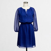 Factory textured dot dress - AllProducts - FactorySale's Clearance - J.Crew Factory