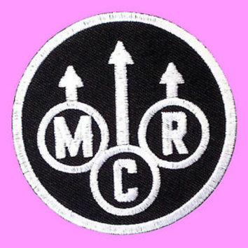 M C R My Chemical Romance Death Punk Rock Music Band Embroidered Iron On Patch