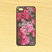 Be the Reason Quote Phone Case iPhone 4 / 4s / 5 / 5s / 5c /6 / 6s /6+ Apple Samsung Galaxy S3 / S4 / S5 / S6