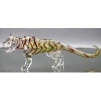 Tiger Color Changing Glass Pipe - Hand Pipes - 49.99 US and Canada
