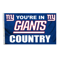New York Giants Country 3X5 Flag