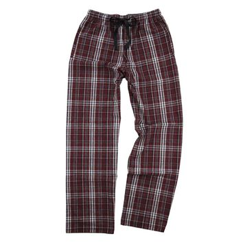 Boxercraft Maroon and Black Flannel Pant