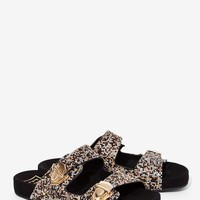 EEight Precious Stone Plated Sandal