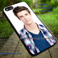 Grant Gustin the Flash TV Series Cast iPhone 6s 6 6s+ 5c 5s Cases Samsung Galaxy s5 s6 Edge+ NOTE 5 4 3 #cartoon #theFlash #superheroes dt
