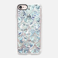 Ice and Diamonds Art Deco Pattern on transparent iPhone 7 Case by Micklyn Le Feuvre | Casetify